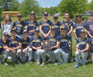"<span class=""entry-title-primary"">Medomak 8th boys win Busline League championship</span> <span class=""entry-subtitle"">Medomak 14 - Nobleboro-Jefferson 1</span>"