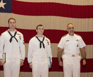 Navy Divers, Including Wiscasset Man, Receive Medal for Heroism