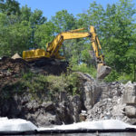 Work Starts at Head Tide Dam in Alna
