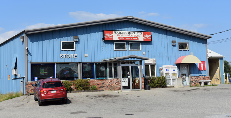 Peaslee's Quick Stop on Route 17 in Jefferson. Maritime Energy, of Rockland, will take over the convenience store and gas station effective Monday, Aug. 5, according to founder Forest E. Peaslee. (Alexander Violo photo)