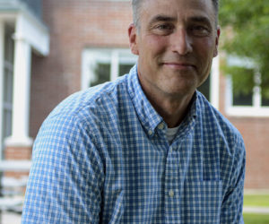 Lincoln Academy Head of School Jeffrey Burroughs. (Photo courtesy Jenny Mayher)
