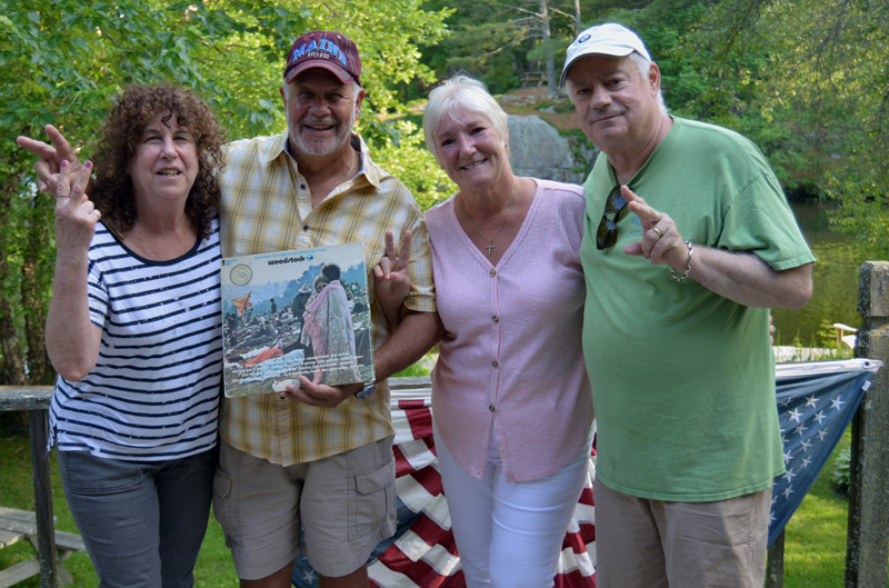 Couple from Woodstock Album Cover Relaxes in Nobleboro - The Lincoln