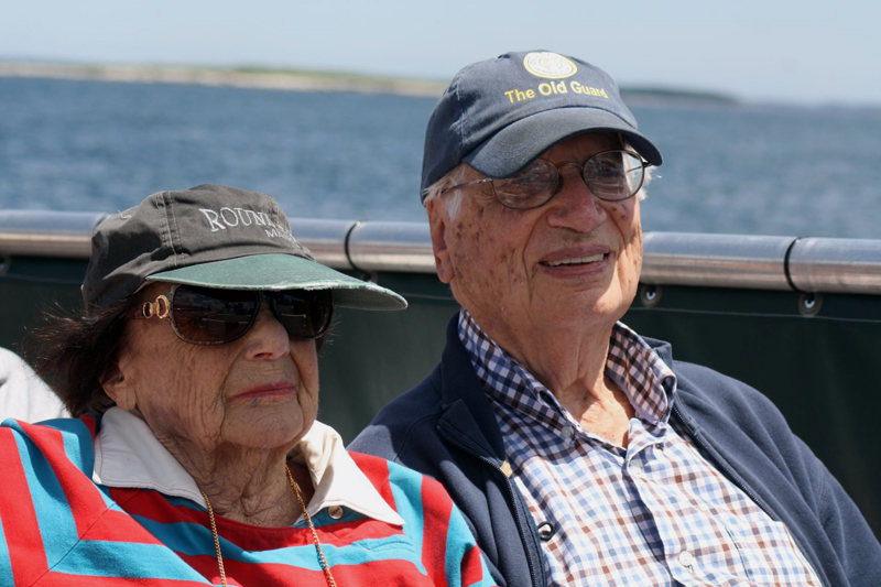 Shirley and Bill Silverberg of New Harbor.