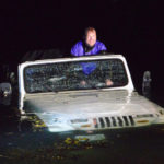 Jeep Slides Down Landing, Into South Bristol's Harbor