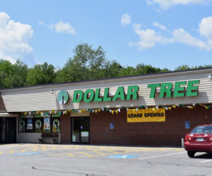 The new Dollar Tree storefront in the Wiscasset Marketplace. The store replaces a Family Dollar in the same location. Dollar Tree owns both brands. (Alexander Violo photo)