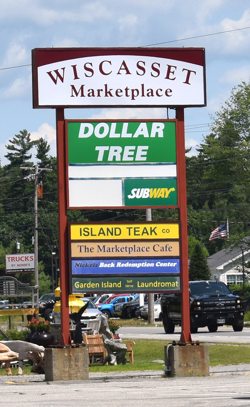 Dollar Tree is now open at the Wiscasset Marketplace. The store celebrated its grand opening Saturday, July 27. (Alexander Violo photo)