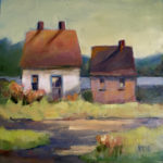 Coastal Landscape Painters Loughridge and Klein at Pemaquid Art Gallery