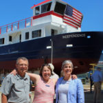 Cooper and Breen Attend Chebeague Island Ferry Launch