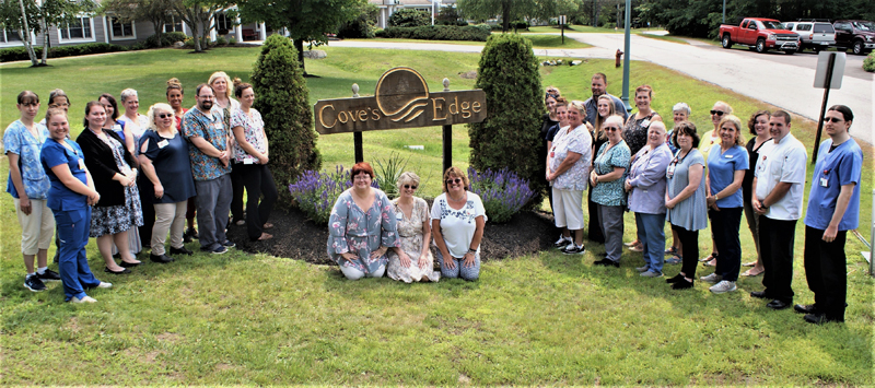 The Cove's Edge team is proud to receive the Silver Achievement in Quality Award from the American Health Care Association and the National Center for Assisted Living.