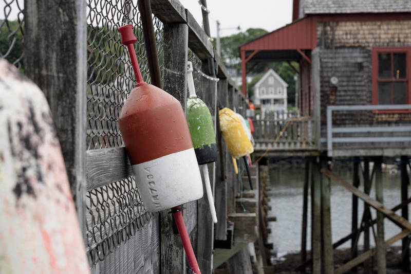 Dmitry Pepper, of Whitefield, won the July #LCNme365 photo contest with his photo of buoys on the footbridge in Boothbay Harbor. Pepper will receive a $50 gift certificate to Riverside Butcher Co., the sponsor of the July contest.