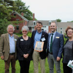 Steven Hufnagel Honored at Frances Perkins Homestead