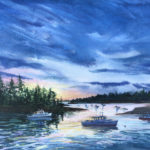 Summer-Themed Art at Damariscotta River Grill