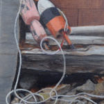 Three Oil Painters at Saltwater