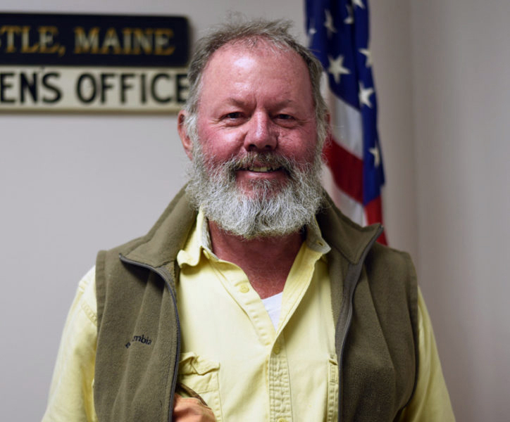 Newcastle Selectman Christopher Doherty. The Newcastle Board of Selectmen is considering how to handle Doherty's absence for its last nine meetings. (LCN file photo)