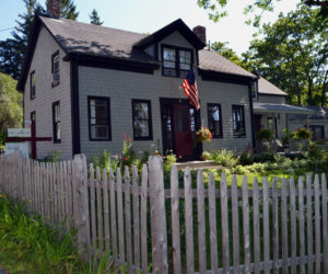 Kevin and Ammi Chung's home at 87 Federal St. in Wiscasset also serves as an art gallery and bed-and-breakfast. (Charlotte Boynton photo)
