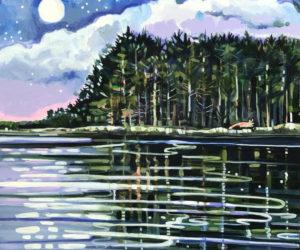 """Full Moon Fox,"" by Susan Bartlett Rice."