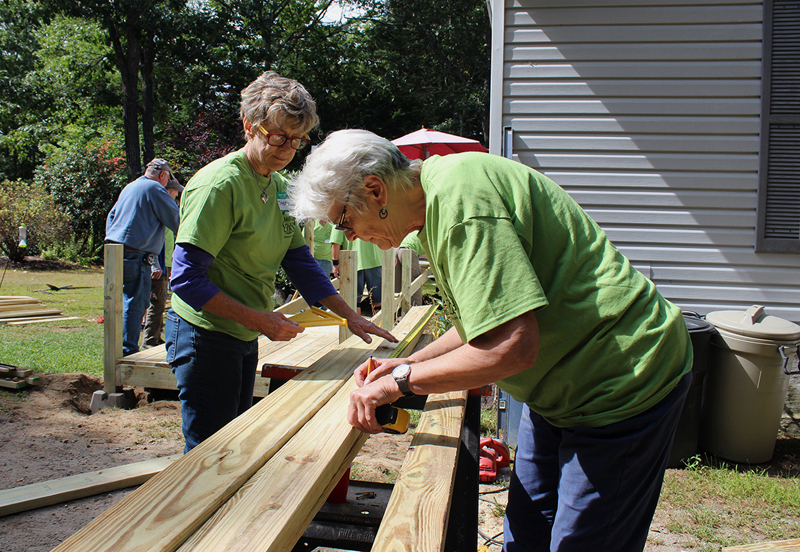 Volunteers are needed for CHIP Inc.'s 17th annual Community Cares Day on Saturday, Sept. 7.