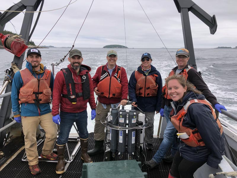 Darling Marine Center and Bigelow Laboratory scientists and students are collaborating on research to sustain Maine's marine fisheries and detect harmful species, thanks to a new federal government grant. (Photo courtesy Jeremy Rich)