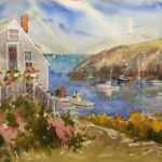 Well-Known Painters Kilburn and Hallett Exhibiting at Pemaquid
