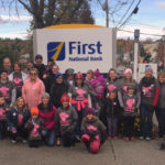 First National Bank Collecting Donations for Making Strides