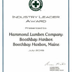 National Safety Council Gives Leader Awards to Hammond Lumber