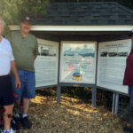 Historical Society Adds New Panels to Kiosk