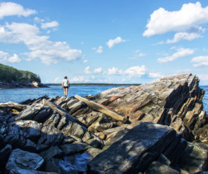 Bruce Skinner, of Carver, Mass., won the August #LCNme365 photo contest with his photo of his wife hiking at LaVerna Preserve in Bristol. Skinner will receive a $50 gift certificate to Newcastle Publick House, the sponsor of the August contest.