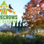 Scarecrows at Coastal Maine Botanical Gardens