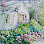 Free Watercolor Demo En Plein Air is Sept. 6