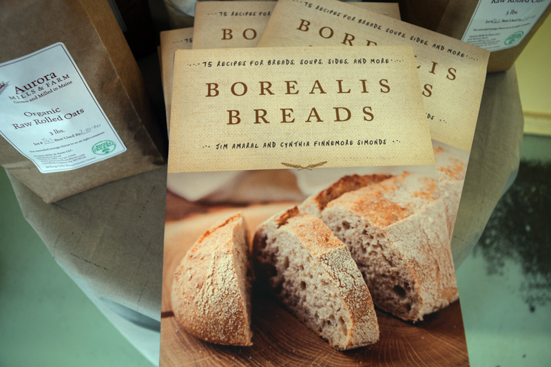 "Alna baker and businessman Jim Amaral and Newcastle food writer Cynthia Finnemore Simonds co-authored ""Borealis Breads: 75 Recipes for Breads, Soups, Sides, and More."" (Jessica Clifford photo)"