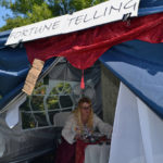 Guests Learn Fortunes, Scarf Hamburgers at Chase Point Country Fair