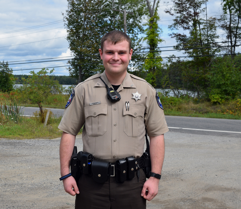 Lincoln County Sheriff's Deputy Caleb Fortin. (Jessica Clifford photo)