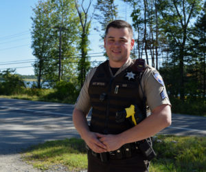 Lincoln County Sheriff's Office Sgt. Jared Mitkus. (Jessica Clifford photo)