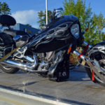 Couple on Motorcycle Taken to Hospital After Wiscasset Crash