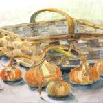 Borgal Watercolors in Bank Show