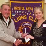 Bristol Area Lions Hear from Bristol Consolidated School Principal
