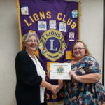 Chase Point Talk at Lions Meeting