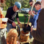 Cider Pressing at Pownalborough Court House Sept. 29