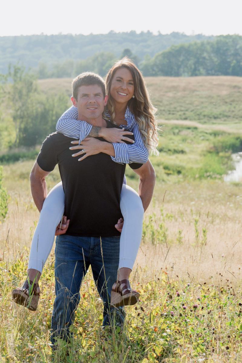 Paul Garber and Jillian Leonard