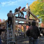 Fall Timber Frame Workshop at Hidden Valley Nature Center