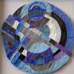 Fiber Arts in River Arts' West Gallery