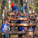 Kids Race at Race Through the Woods