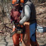October Chainsaw Safety Course at Nature Center