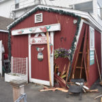SUV Strikes Shop in Boothbay Harbor