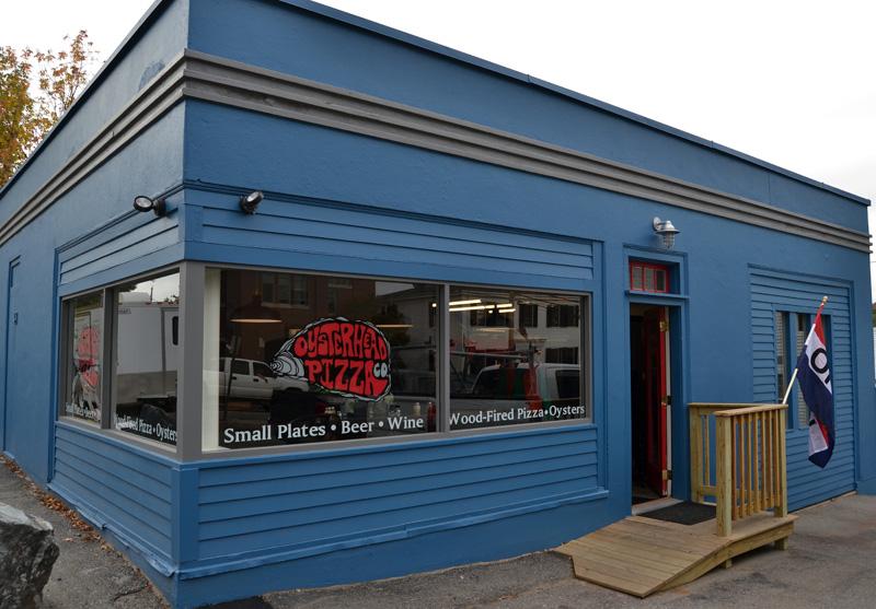 Oysterhead Pizza Co., at 189 Main St. in downtown Damariscotta, will celebrate its grand opening Thursday, Oct. 17 after a soft opening over the Damariscotta Pumpkinfest weekend. (Maia Zewert photo)