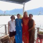LA Teacher Visits Graduate in Vietnam