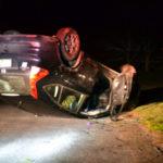 SUV Rolls Over in Nobleboro