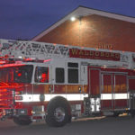 Waldoboro Shows Off New Ladder Truck at Open House