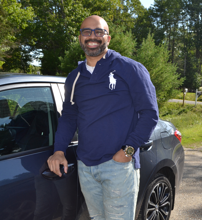 Mike Connors, formerly of Wiscasset, was in and out of juvenile centers and jails for 21 years. Now an alcohol and drug counselor, he works to help others recover from addiction. (Charlotte Boynton photo)