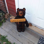 Conrad the Bear Announces Historical Society Fundraiser